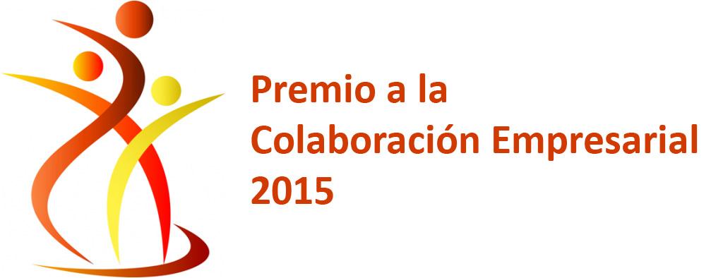 Premio a la Colaboración Empresarial 2015